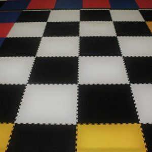 Interlock Gym Floor
